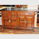 Oak Sideboard | Period: Arts & Crafts | Material: English oak.