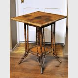 Bamboo Table | Period: Edwardian | Material: Bamboo tortoiseshell cane