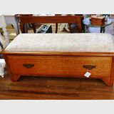 Bench Seat   Period: c1910s   Material: Silky Oak