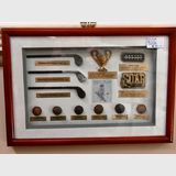 Golfing 3D Picture/ Collage | Period: c2000 | Material: Various . Timber Frame