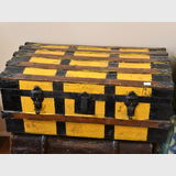 Shipping Trunk | Period: Victorian c1890 | Material: Various