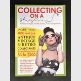 Book- Collecting on a Shoestring | Make: Carter publications | Material: Paper