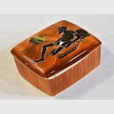 Lidded Box | Period: c1950s | Make: Florenz | Material: Pottery