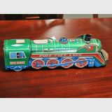 Toy Train | Period: c1970 | Material: Tinplate