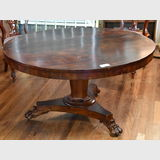 Regency Round Table | Period: Late Regency- Early Victorian c1840 | Material: Mahogany