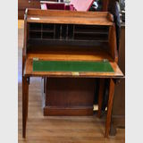 Writing Bureau   Period: Victorian c1880   Material: Walnut