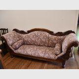 3 Seater Sofa   Period: Victorian c1880   Material: Mahogany