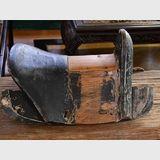 Vintage Oriental Saddle | Period: Qing c1900 | Make: Handmade. | Material: Wood.