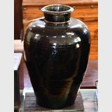 Black Glaze Pot | Period: Qing c1900 | Material: Pottery