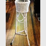 Seagrass Plant Stand | Period: c1930s | Material: Seagrass