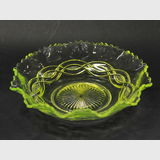 Citrine Glass Bowl | Period: c1930 | Material: Glass