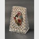 Photo Frame | Period: c1930 | Material: Cut glass