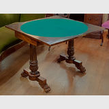 William IV Card Table | Period: 1830's | Material: Brazilian Rosewood