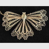 Butterfly Brooch | Period: c1935 | Material: 9ct gold