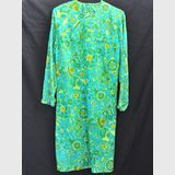 Psychedelic Party Dress | Period: 1970s