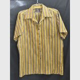 Striped Men's Shirt | Period: 1970s | Make: Pelaco | Material: Polyester