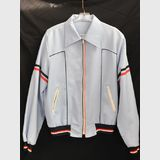 Sports Jacket with Zips | Period: 1970s | Material: Cotton