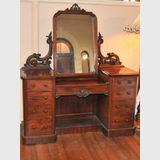 Pedestal Dressing Table | Period: Victorian c1880 | Material: Mahogany