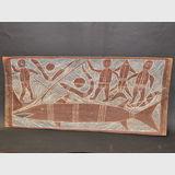 Bark Painting | Period: 1920s | Material: Bark