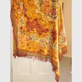 Tapestry Bedspread | Period: Retro c1980 | Material: Tapestry