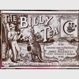 Billy Tea Sign | Period: c1970 | Material: Enamel