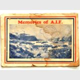 A.I.F. Memorial Booklet | Period: WW1 | Make: A J Kemp & H Pole & Co | Material: Paper