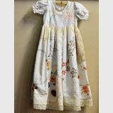 D'Oyley Dress | Period: Vintage | Material: Hand embroided linen