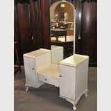 Dressing Table | Period: Art Deco | Material: White painted timber