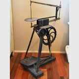 Treadle Fretsaw | Period: c1920s | Material: Cast iron