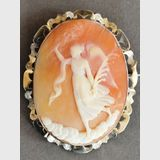 Cameo Brooch | Period: c1920s | Material: Shell cameo and silver.
