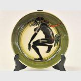 Martin Boyd Cabinet Plate | Period: 1946- 63 | Make: Martin Boyd | Material: Earthenware