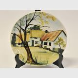 Martin Boyd Cabinet Plate | Period: 1946- 63 | Make: Martin Boyd | Material: Earthenware