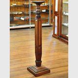 Display Pedestal | Period: Victorian c1880 | Material: Walnut