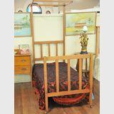 Silky Oak Single Bed | Period: c1930s | Material: Silky Oak