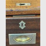 Campaign Chest | Period: Victorian c1880 | Material: Teak