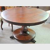 Round Cedar & Mahogany Table   Period: Victorian c1840s   Material: Cedar & mahogany