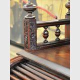 Rolltop Desk | Period: Victorian c1880 | Material: Oak & Blackwood