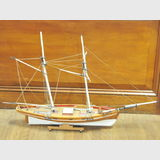 Model Yawl | Period: c1970s | Material: Timber
