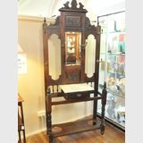 Tall Hallstand | Period: Late Victorian c1890 | Material: Pine