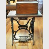 Wertheim Sewing Machine | Period: c1875 | Make: Wertheim | Material: Various incl cast iron and inlaid timber