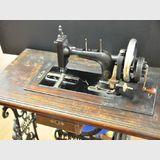 Wertheim Sewing Machine | Period: c1875 | Make: Wertheim | Material: Various incl cast iron and inlaid timber
