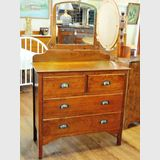 Duchess Dressing Table | Period: c1940s | Material: Silky Oak