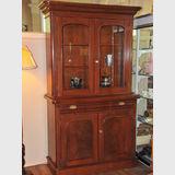 Cedar Bookcase   Period: Victorian c1870   Material: Cedar