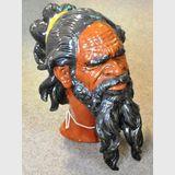 Aboriginal Bust | Period: c1980s | Material: Porcelain