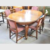Dining Suite | Period: Art Deco c1920s | Material: Blackwood