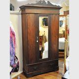 Wardrobe | Period: Edwardian c1910 | Material: Pine