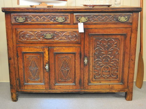 Sideboard | Period: Edwardian c1910 | Material: English Oak.