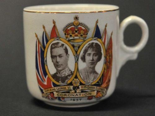 Coronation Mug | Period: 1937 | Material: Porcelain