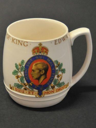 Coronation Mug | Period: 1937 | Make: Copeland Spode | Material: Porcelain