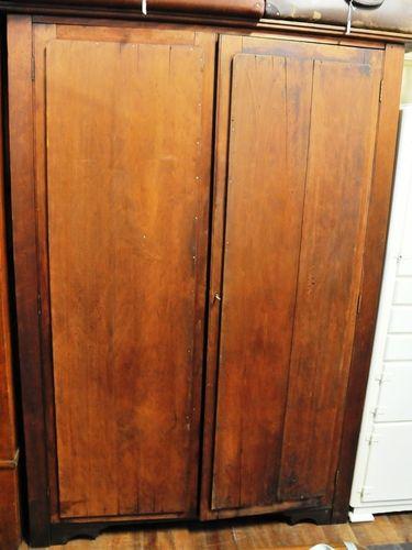 Linen Press | Period: Edwardian c1910 | Material: Pine